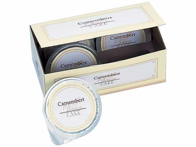 カマンベールチーズケーキ化粧箱(小)