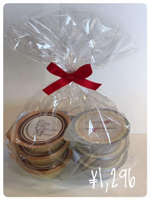 カマンベールチーズケーキ & 生チョコレートムース 6個セット_外観